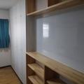 子供部屋に間仕切りをつくり、独立した二部屋に