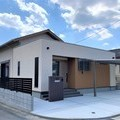 完成!  田川市 木の家 天井の高いリビングの平屋住宅